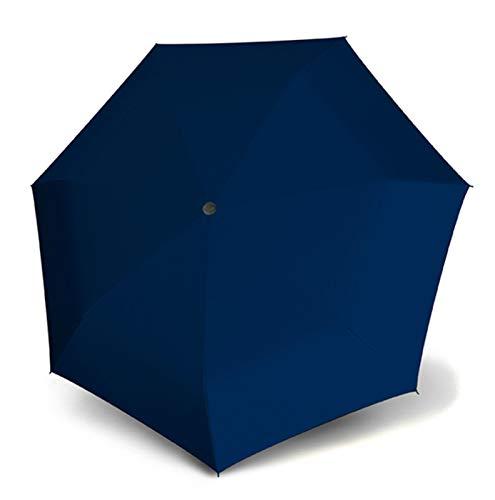 Doppler Taschenschirm Zero Magic Large | Größeres Schirmdach | Regenschirm für Unterwegs in Large (Uni Deep Blue)