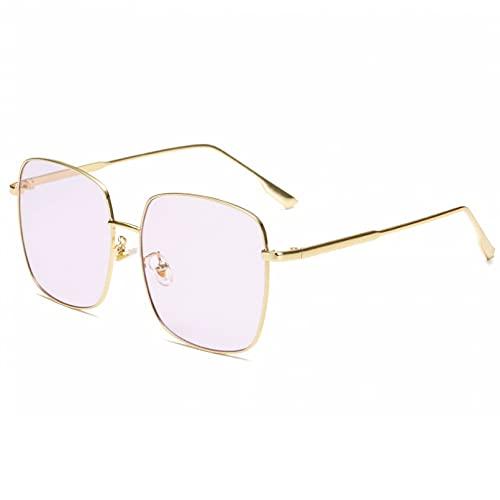 LUOXUEFEI Gafas De Sol Gafas De Sol Cuadradas Hombres Mujeres Marcos Gafas De Sol De Conducción