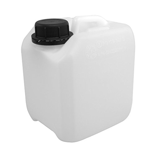 Kanister aus HD-PE (natur) mit Lebensmittelfreigabe (2,5 Liter)