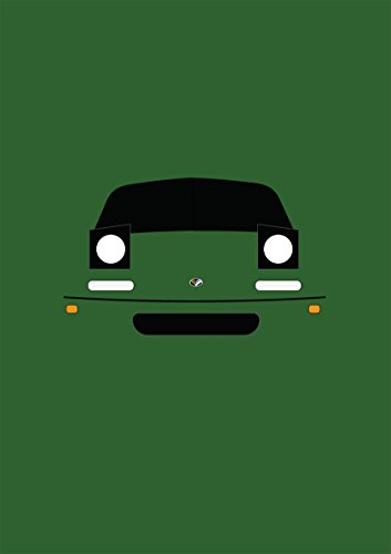 Retro Motor Company Grußkarte mit Mazda MX5MK1