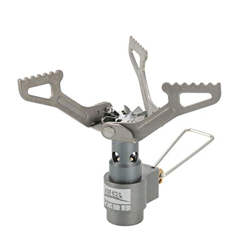 KJDS Outdoor Titanium Alloy Ultra-light Portable Camping Picnic Stove Mini Camping Stove Ultralight for BBQ Picnic Cookout, 25g