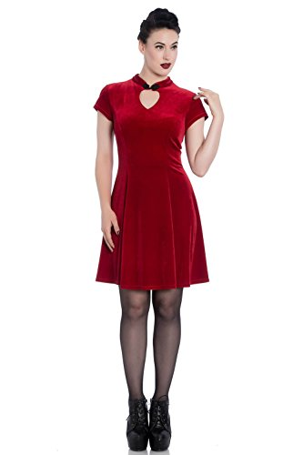 Spin Doctor Kleid MIKA Mini Dress 4740 Rot XXL