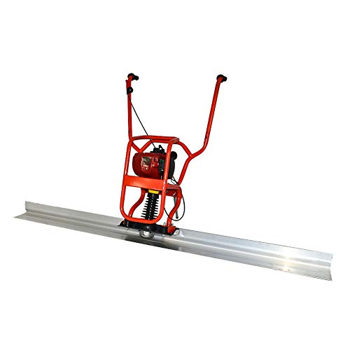 37.7cc Gas Concrete Power 4 Stroke Concrete Surface Vibratory Leveling Screed With 2m/6.56ft Aluminum Tamper blade