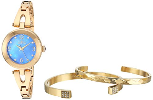 Invicta Women's Angel Quartz Watch with Stainless Steel Strap, Gold, 12 (Model: 29332)