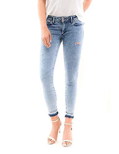 Jeans Salsa Wonder Push Up Desgastados