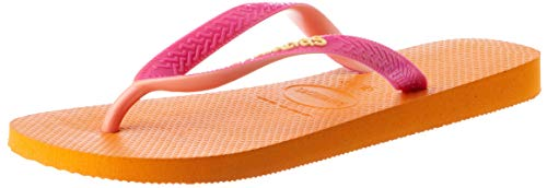 Havaianas Damen Top Mix Zehentrenner, Orange (Vibrant Orange 7608), 39/40 EU