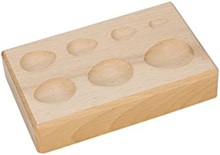 Hardwood Forming Block, Pear Depressions, 6-1/4 by 4 by 1-1/4 Inches   DAP-156.00