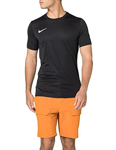 Nike M Nk Dry Park VII JSY SS, Maglietta a Maniche Corte Uomo, Nero (Black/White), XL