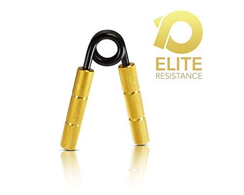 Powerball Griff-Stärkerer aus Metall Professioneller Grip Strengthener für Intensive Griffkraft, Muskeltraining und Rehabilitation (350lbs)