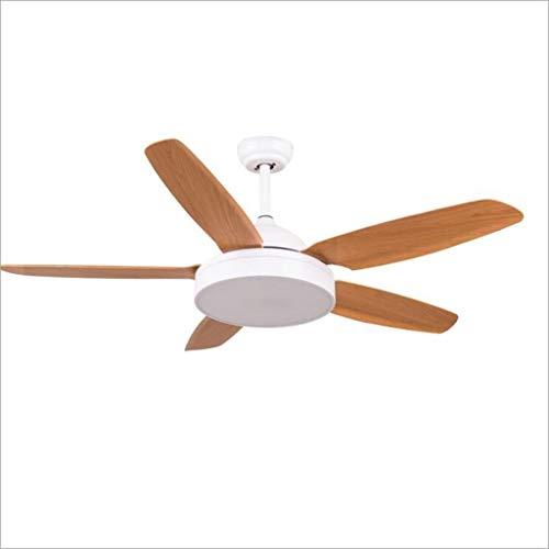 Americana sólida simple de techo en color de la sala Luz del ventilador de 52 pulgadas...
