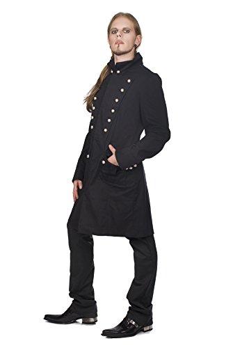 Aderlass Admiral Coat Denim Black (Größe XXL)