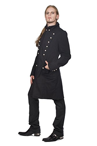Aderlass Admiral Coat Denim Black (Größe XXL)