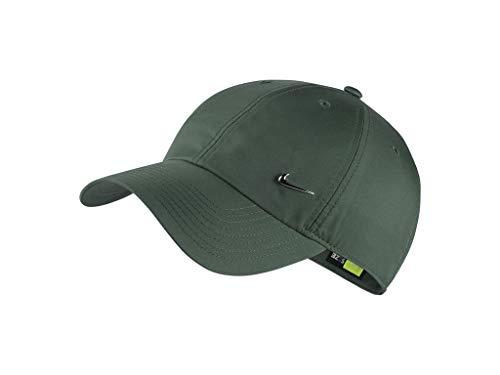 NIKE U NK H86 Cap NK Metal Swoosh Hat, Unisex Adulto, Medium Olive, MISC