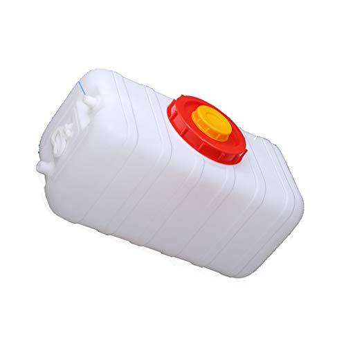 Contenedor de Agua Cuadrado Cubo De Plástico 200L Tanques De Agua El Plastico Con Asa Sin BPA Contenedores De Almacenamiento De Agua Con Grifo Almacenamiento De Agua En El Hogar Resistente A Ácidos Y