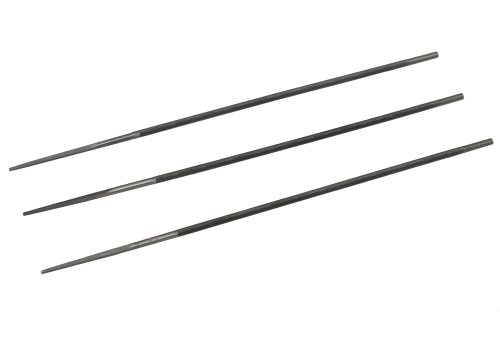 AERZETIX: Juego de 3 limas para afilado de cadenas de motosierra (3.5mm) C1348