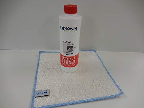 proWIN Backofenreiniger 1000 ml mit Maxxi Clean Millionentuch Bambustuch