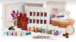 Young Living Premium Starter kit with Dewdrop Home Rainstone Aria Diffuser Essential Oils Collection NingXia Red 11 5ml Oils (Aria Diffuser)