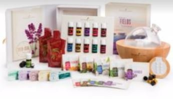 Young Living Premium Starter Kit con Dewdrop casa Rainstone Aria difusor aceites esenciales Colección Ningxia rojo 115ml difusor de aceites (Aria)