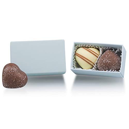 Pastel ChocoTwo - zwei Pralinen als Gastgeschenk, Give Aways Hochzeitsgäste, Schokolade Gastgeschenk