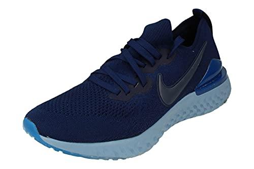 Nike Zapatos Epic React Flyknit 2 Track & Field para hombre, color Azul, talla 44 EU