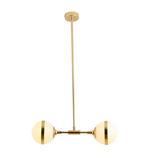 Moderne hanglamp, 9 Globi met exclusieve glazen bollen, moleculaire plafondlamp van Scandinavische magische bonen, hanglampen voor woonkamer in landbouw