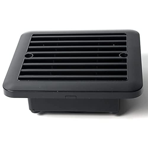 FGDSA Aire Acondicionado Deflector 2V Caravan RV Refrigeración por Aire Ventilador de Escape Ventilación Ventilación Autocaravana para Caravana RV Barco Camper Accesorios para Autocaravana Durable y