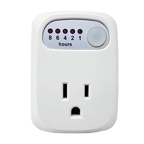 Simple Touch - Overcharge Prevention Timer - Overcharging Protection Auto Shut-Off Timer - for Cell Phones, Tablets, and Laptops