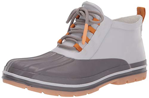 Chooka womens Lace-up Duck Boot Rain Shoe, Tan, 11 US