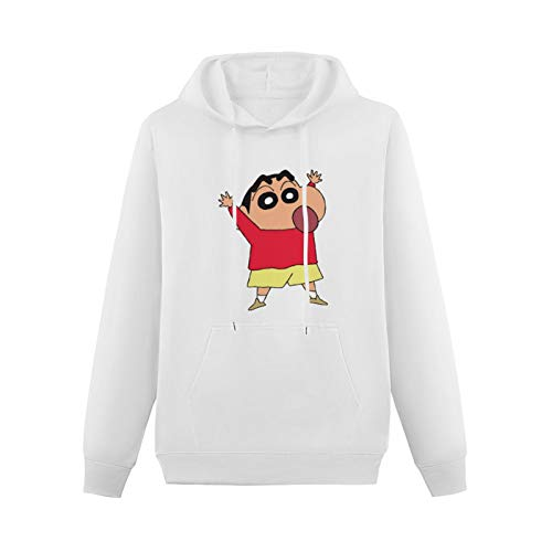 Junya Youth Teen HeavyweightHooded Pure Cotton On Couples Shin Chan Funny Cartoon with HoodedTop