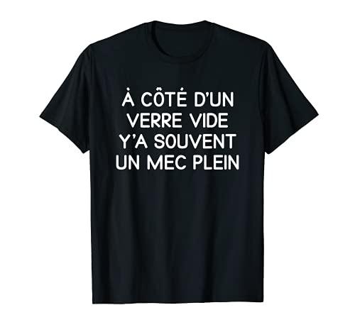 Cadeau Drole Humour pour Apero Alcool Biere T-Shirt