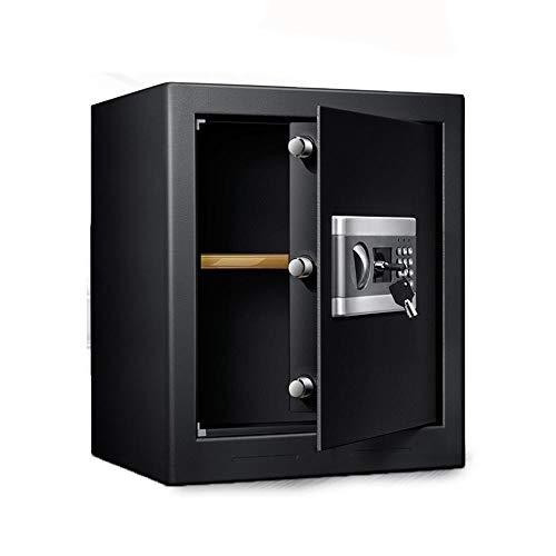 Caja de Seguridad Digital Caja de Caja de Almacenamiento Digital de Seguridad electrónica de Seguridad Doble Cerradura con Llave y contraseña for Ministerio del Hotel joyería Alta Seguridad