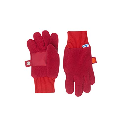 Finkid Sormikas persian red grenadine Kinder Winter Fleece Finger Handschuhe