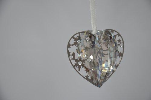 Swarovski Weihnachtsornament Herz Crystal Golden Shadow Christmas Ornament Heart 1140005 AP 2013