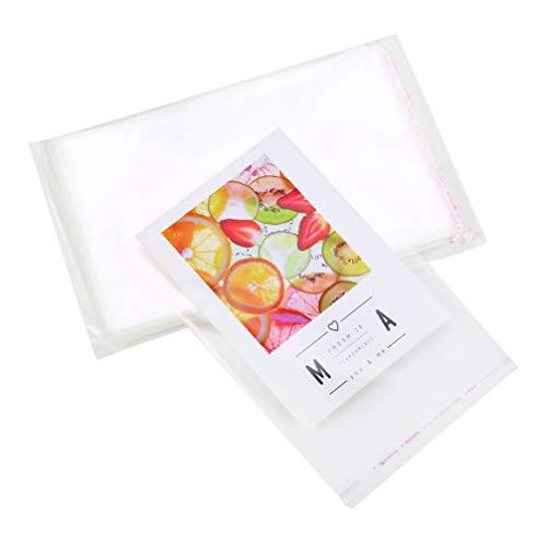 再封可能なOPP袋 12*20cm透明 チェロバッグセロハン袋 クリアセロファンバック200枚入り 透明ビニール袋 お菓子パンチョコゼリークッキーポリ袋