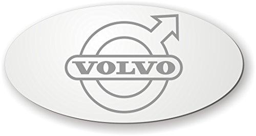 Spiegel mit Logo für die Rückwand kompatibel mit Volvo✓ Aufkleber ✓ Sticker✓ LKW-Zubehör und Artikel für Innenausstattung ✓ Rückwandspiegel ✓ Truck accessoires für den Innenraum ✓