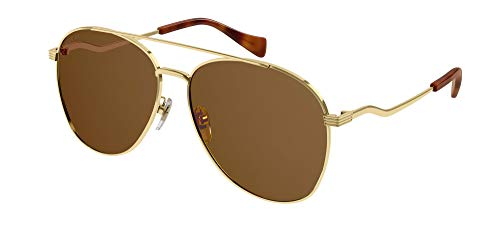 Gucci Gafas de Sol GG0969S Gold/Brown 59/14/145 mujer