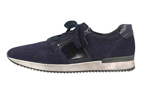 Gabor Sport Sneaker in Übergrößen Blau 53.420.96 große Damenschuhe, Größe:44