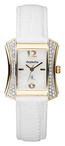 Orphelia Damen-Armbanduhr Fjord Analog Quarz Leder