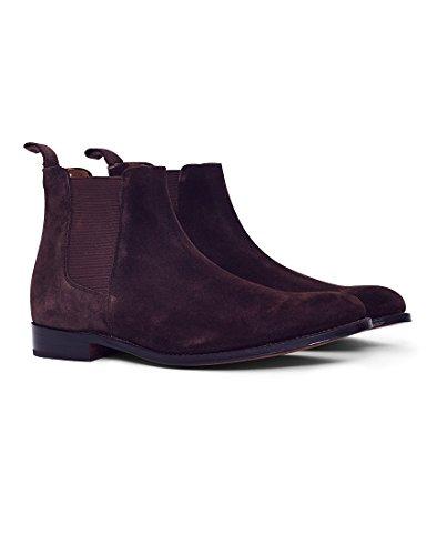 Grenson Declan Schoko Wildleder Herren Chelsea Boot Chocolate UK10 EU44 US11