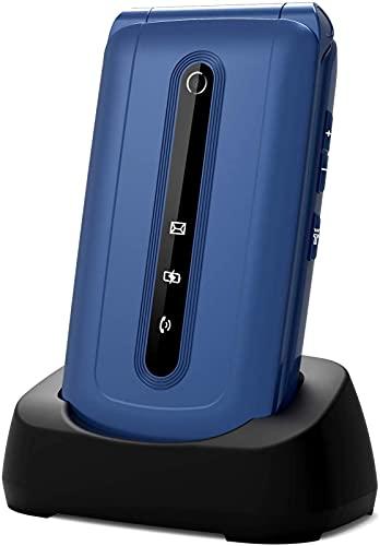 Unlocked Senior Flip Mobile Phone,Big Button Phone For Elderly, Easy to...