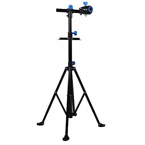 CYGJ Ferro da Stiro Cavalletto Riparazione Bici con Vassoio Portautensili,Bike Repair Stand Regolabile, Leggero, Portatile Reggi Bici per 20-29' Bicicletta