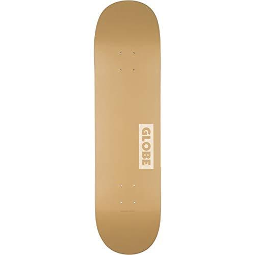 Globe Goodstock Skateboard, Unisex, für Erwachsene, Unisex, 10525351, Beige (Sahara), 8.375