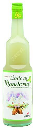 Fiume Sciroppo Latte di Mandorla T.V. - Bottiglia da 1.9 L