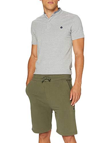 Springfield Bermuda Terry 320 gsm Camiseta, Verde (Green 26), M (Tamaño del Fabricante: M) para Hombre