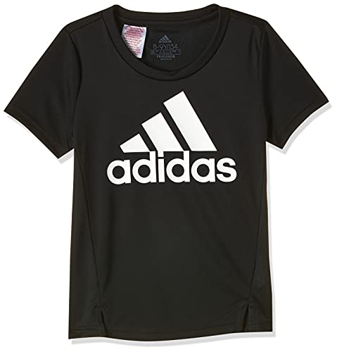 adidas G BL T, t-Shirt (Manica Corta) Ragazze, Black/White, 1314
