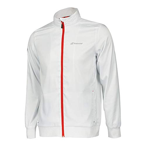 Babolat Core Club Jacket Men Chaqueta, Hombre, White/White,...