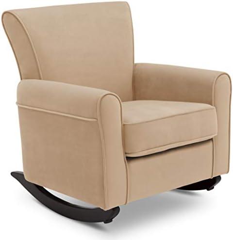 Best Delta Children Lancaster Rocking Chair Featuring Live Smart Fabric, Sisal