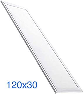 (LA) Panel LED Slim 120x30 cm, 48w, Color Blanco frio (6500K), 4000 lumenes reales. (Blanco Frio (6500K))