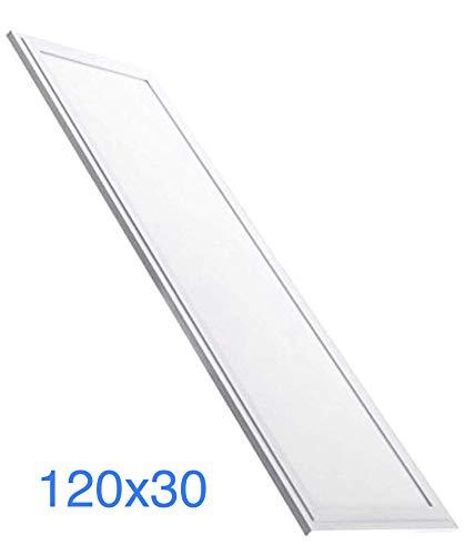 (LA) LED Panel Slim 120x30 cm, 48w, Farbe kaltweiß (6500K), 4100 echte Lumen! Kaltweiß (6500K)