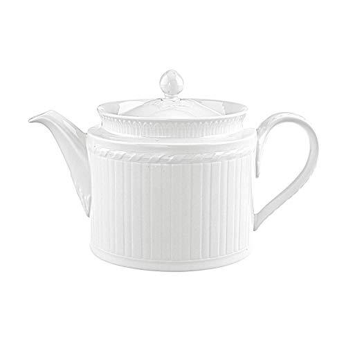 Villeroy & Boch Cellini Teekanne, Premium Porzellan